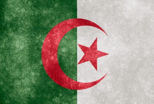 Drapeau algérien @creative commons/Nicolas Raymond