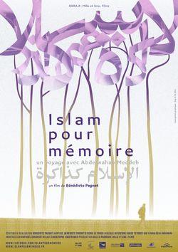 affiche Islam pour mémoire red