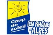 Coup de soleil en Rhône-Alpes