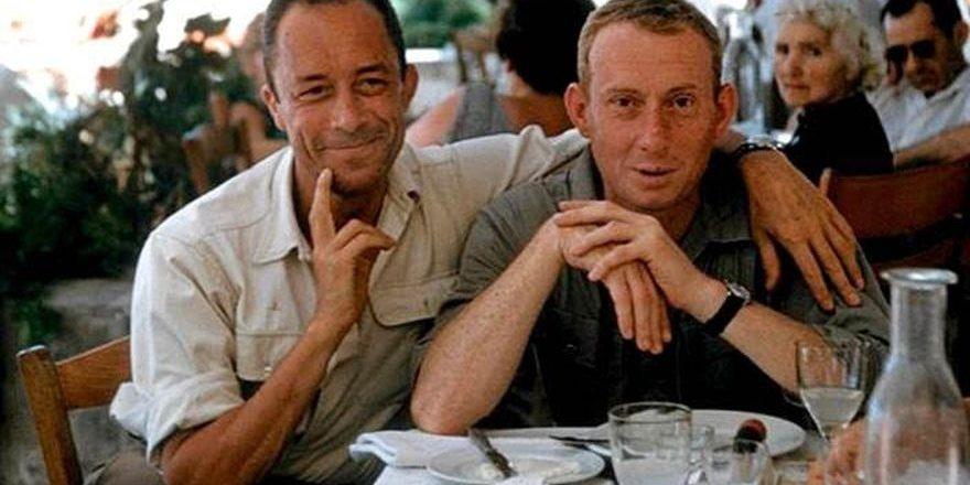 Albert Camus et Michel Gallimard, Grèce, 1958 © Maria Casarès.